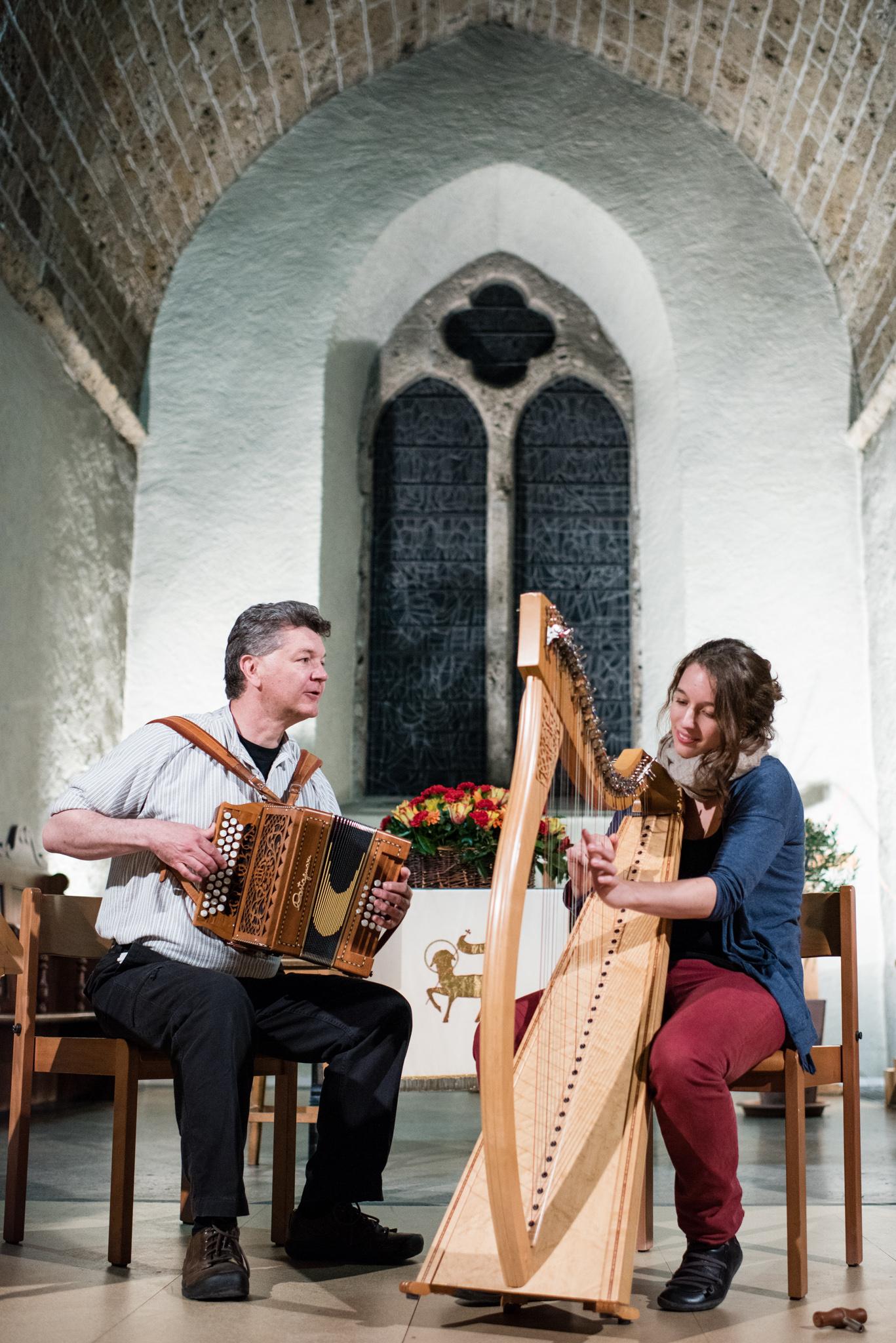 Autour de la Harpe Celtique 2015 - Concert des Profs